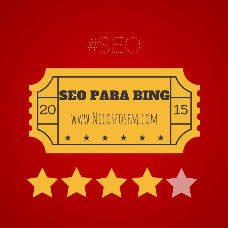 posicionar sitio en Bing, seo bing, Bing