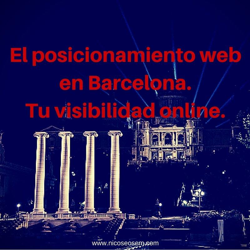 posicionamiento SEO en Barcelona, visibilidad online en Google
