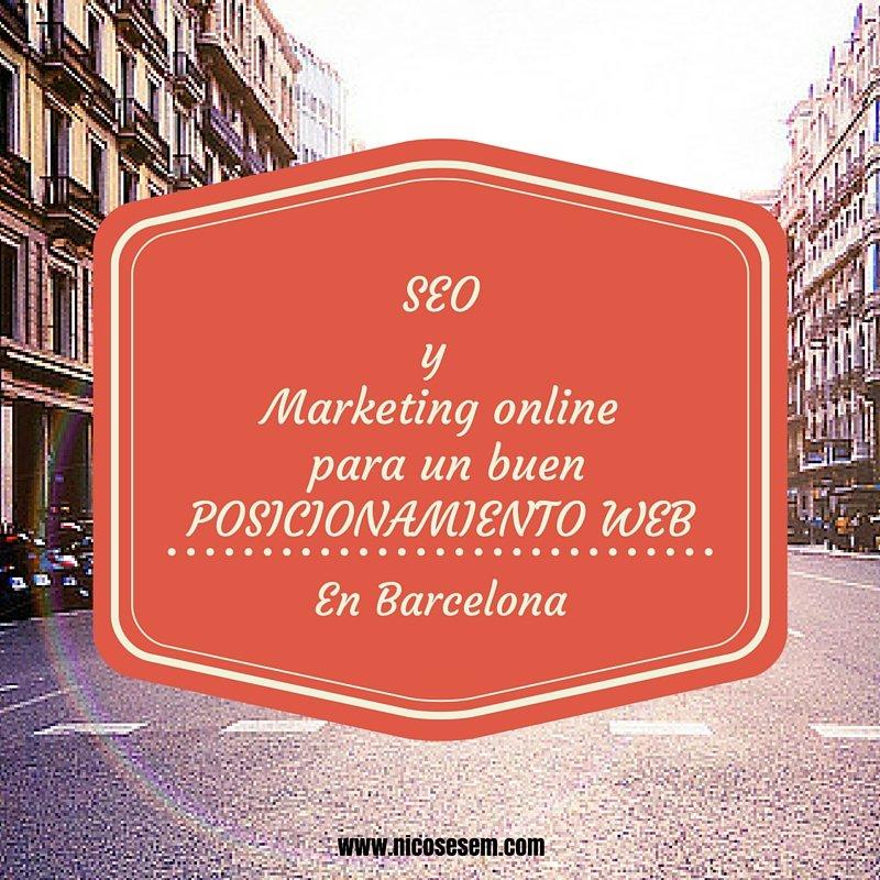 Posicionar web en Barcelona, Estrategia de marketing online para un buen posicionamiento web en Barcelona