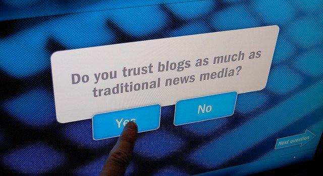 confianza en blog de empresa