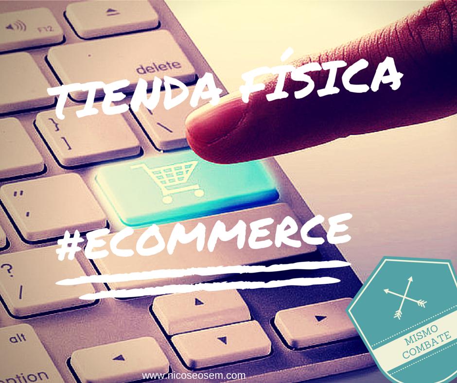Tienda online o ecommerce: mismo combate