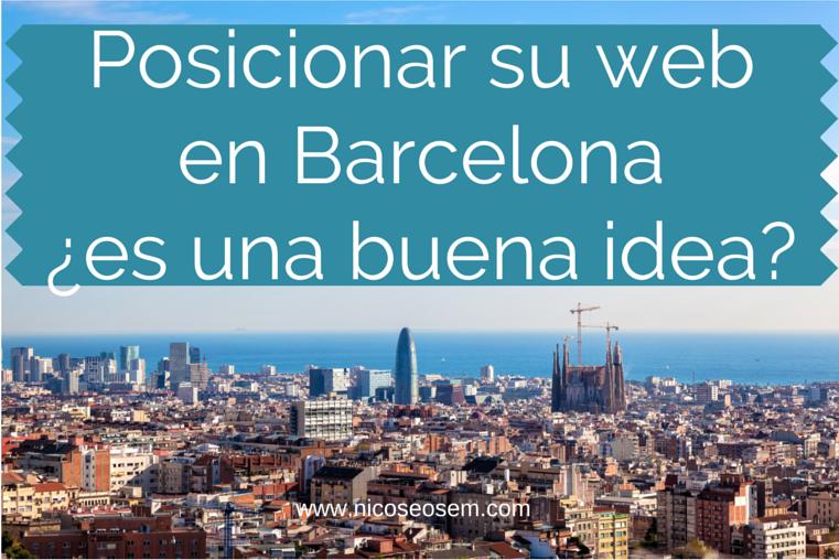 Posicionar web Barcelona Sagrada Familia, La Sagrera, Example