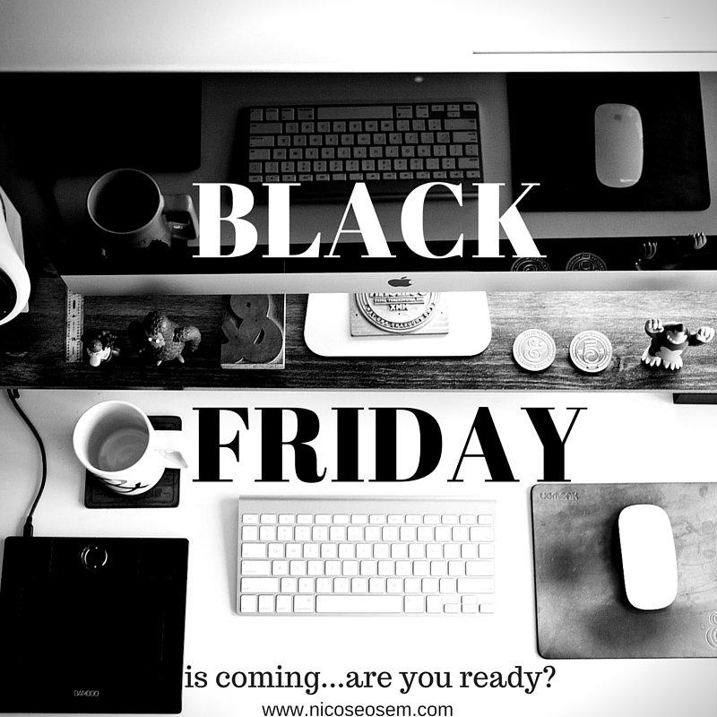 Black Friday y ecommerce
