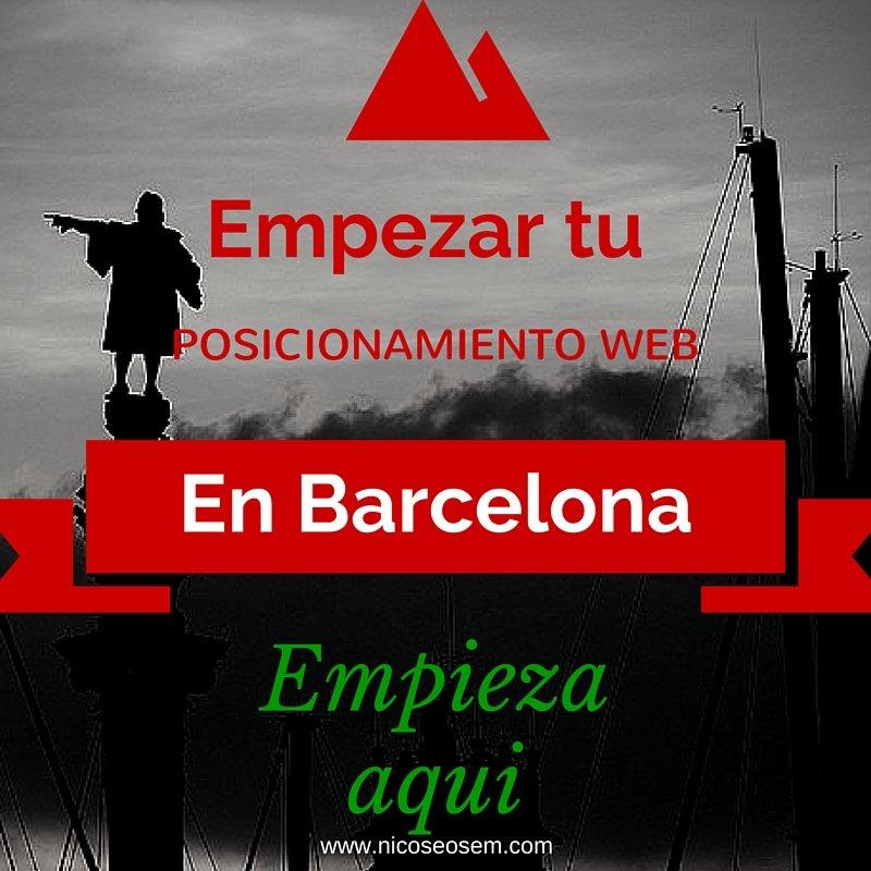 Posicionar su empresa web en Barcelona, consultor SEO Barcelona