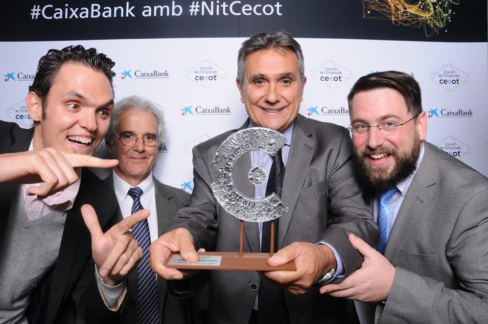 Premio CECOT 2016 valor de Emprender