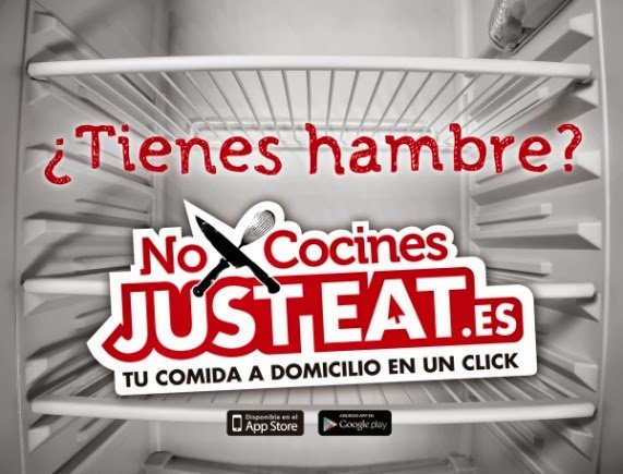 marketing web Just eat tienes hambre