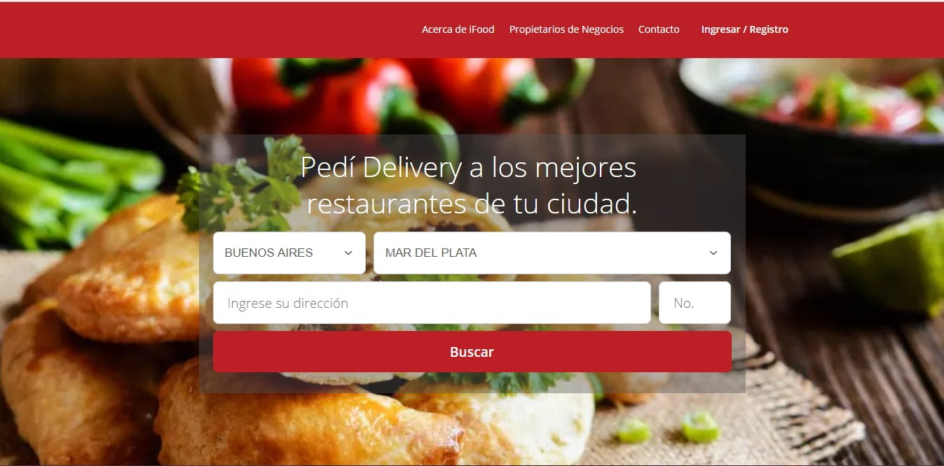marketing web mensaje ifood.com.ar