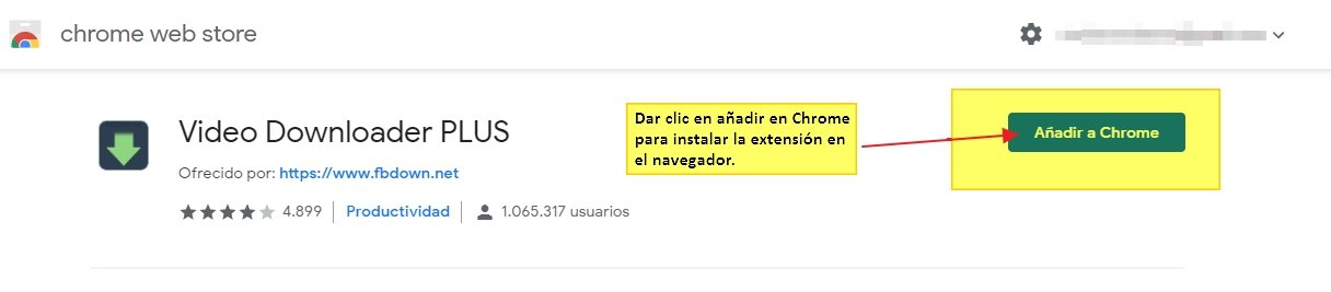 Descargar vídeo Facebook con la extensión FBDOWN Video Downloader