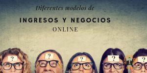 Modelos de ingresos y negocios online