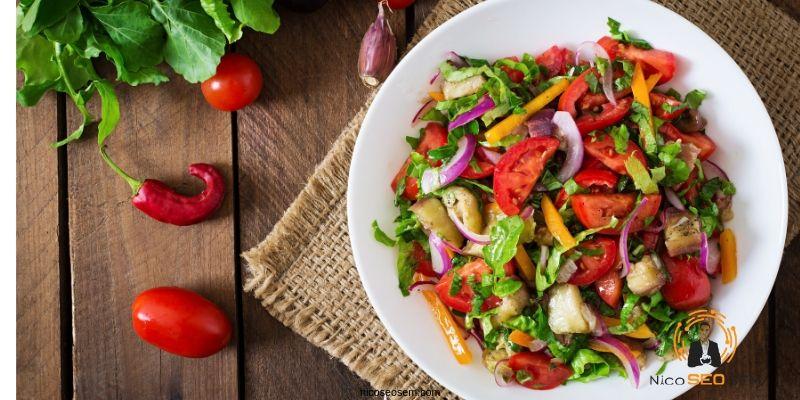 dieta mediterránea con frutas y hortalizas de España