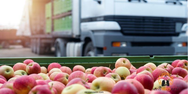 distribución de frutas de España a Francia